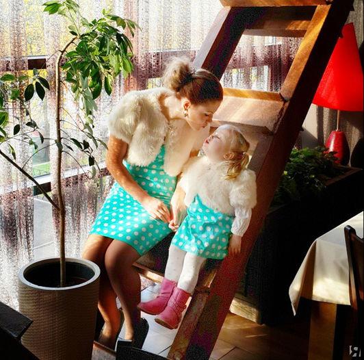 Основательница проекта Марина и ее дочка Мира