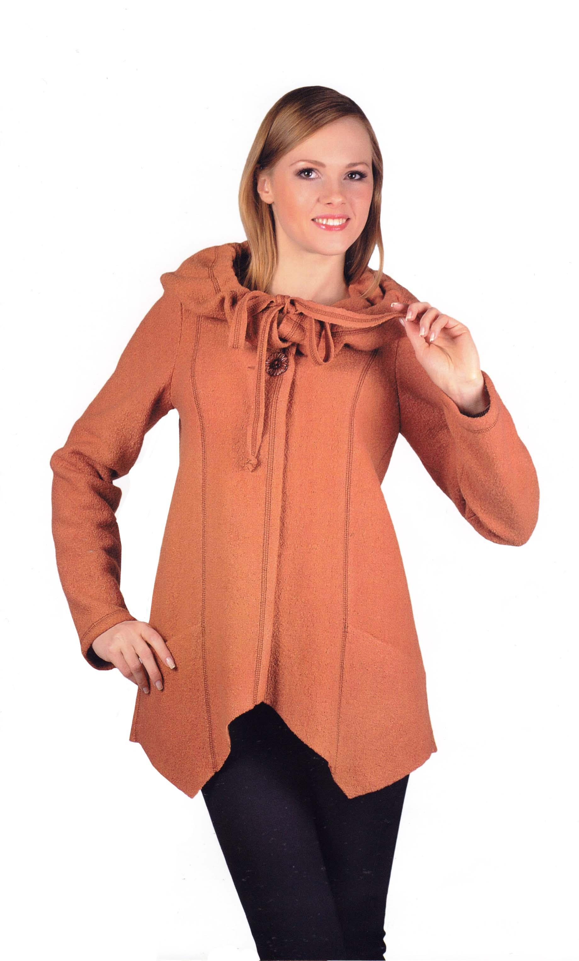 Купить куртку женскую из вареной шерсти