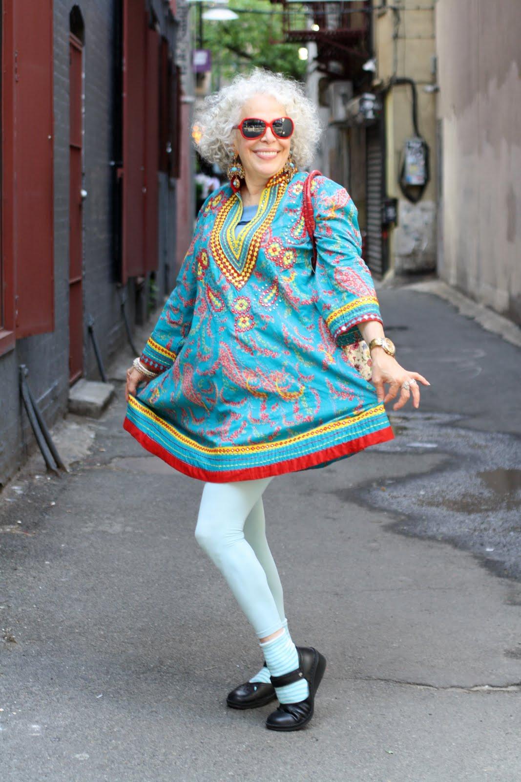 Фото модные бабули