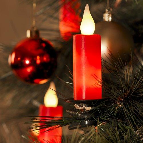 Для елки — только электрические свечи
