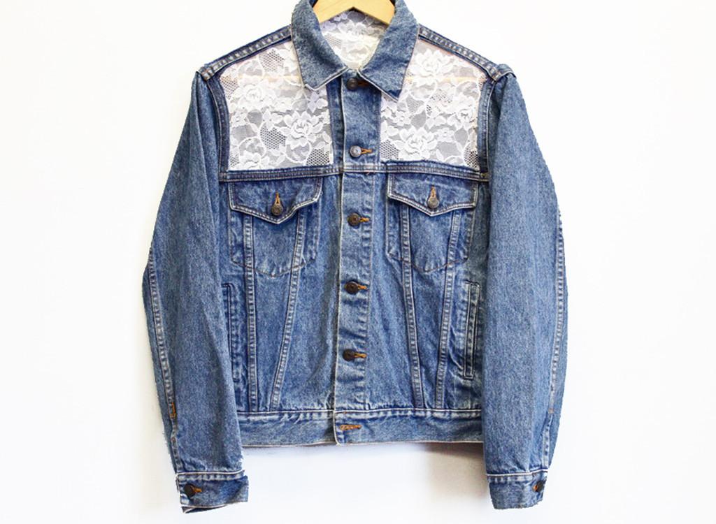 Как обновить джинсовую куртку своими руками 27