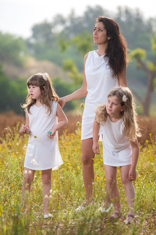 Похожее платье для мамы и дочки