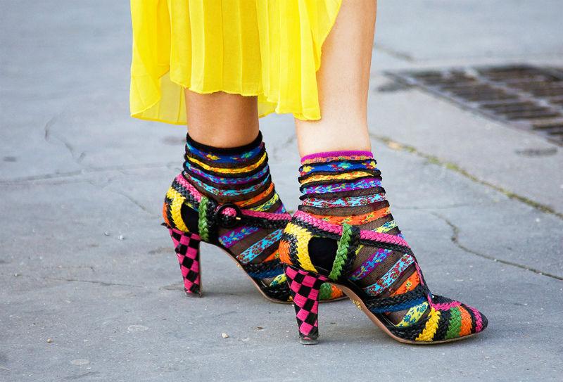 Неудачный образбосоножек носками