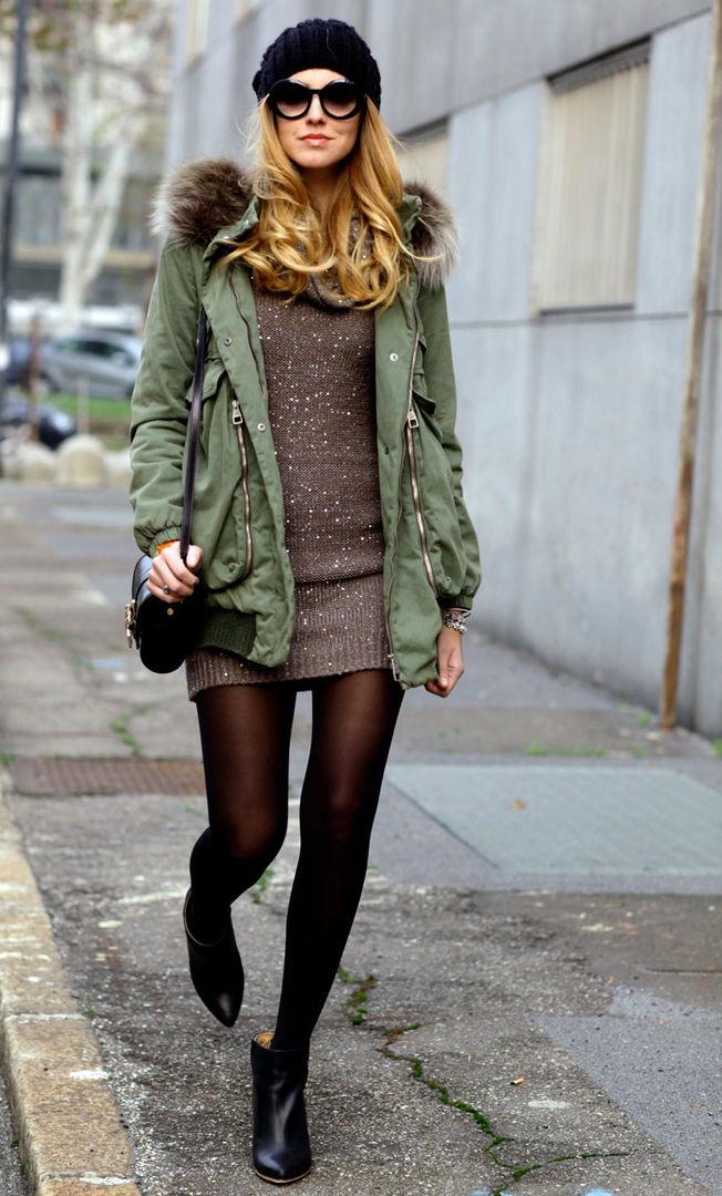 Девушки — в форме! Составляем зимний гардероб в стиле милитари - Я ... dea61ce8497