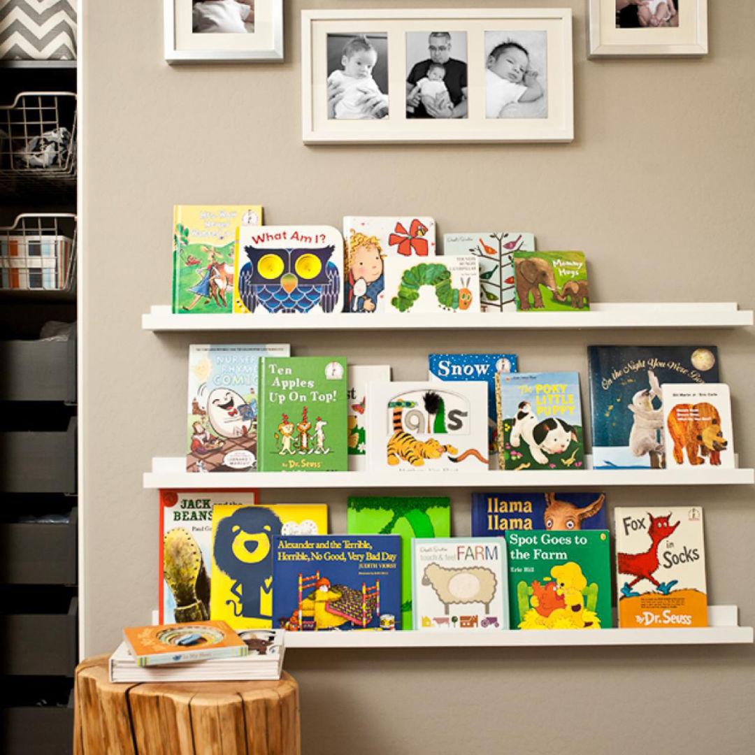 Детские полки для книг.