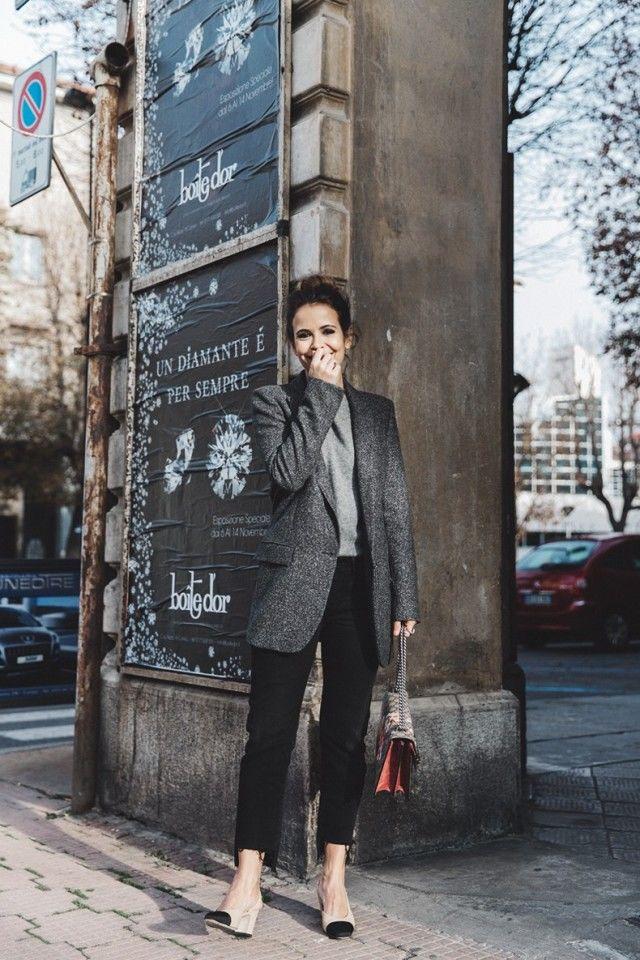 Универсальный серый пиджак из натуральной шерсти