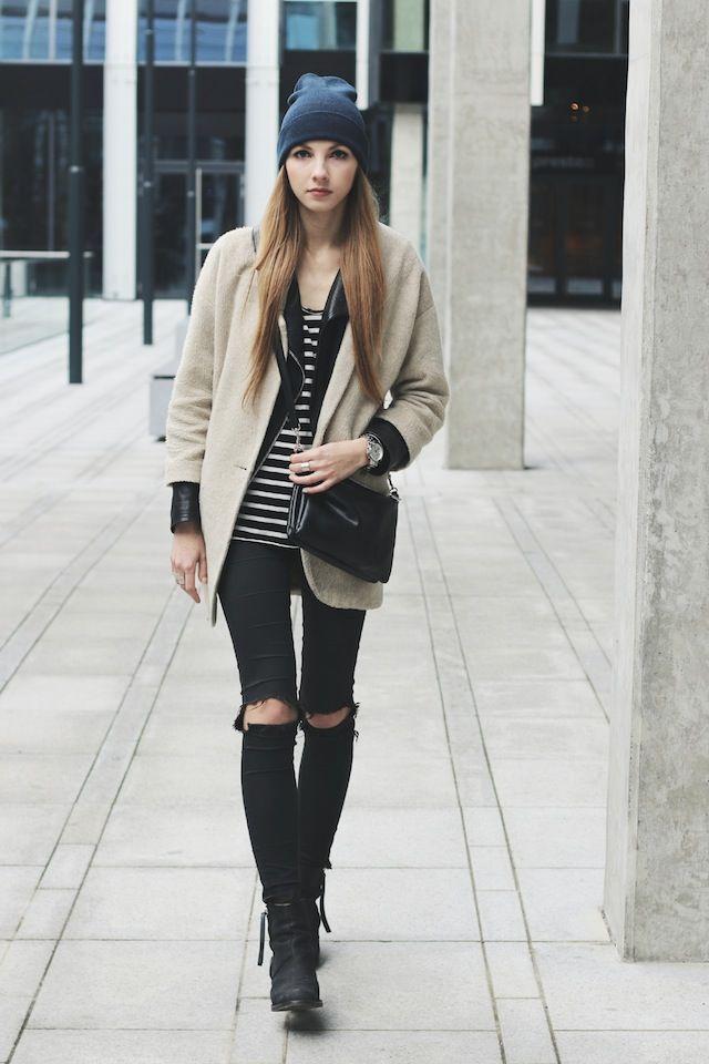Пиджак с контрастными лацканами