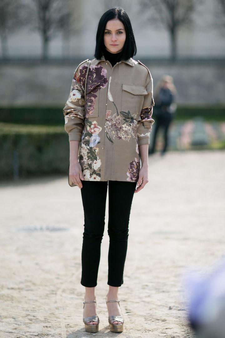 Стильный пиджак необычного кроя