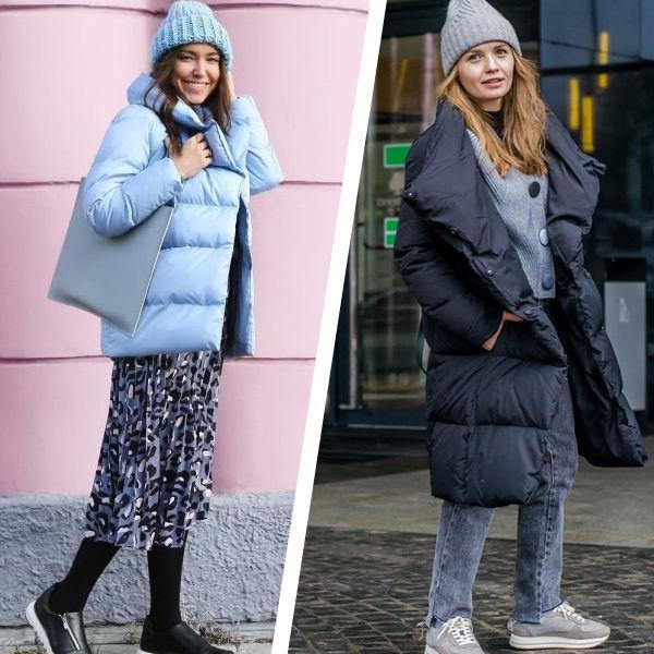 c8962490425 Давайте возьмем за основу две теплых курточки и придумаем