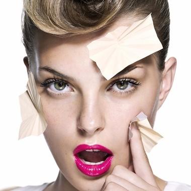 Салфетки для устранения жирного блеска для волос