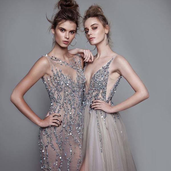 Вечернее платье за один день