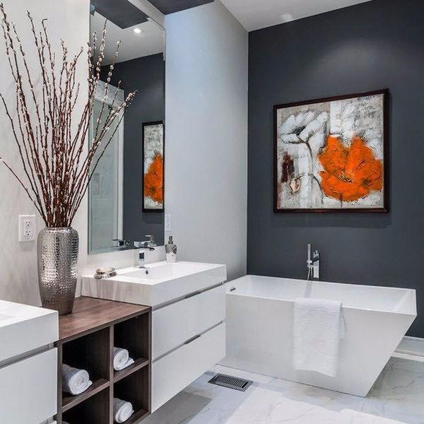 Стильный дизайн ванной комнаты 2017