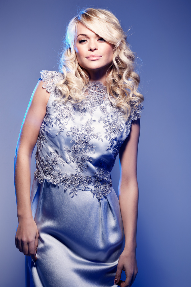 Анна хилькевич в платье