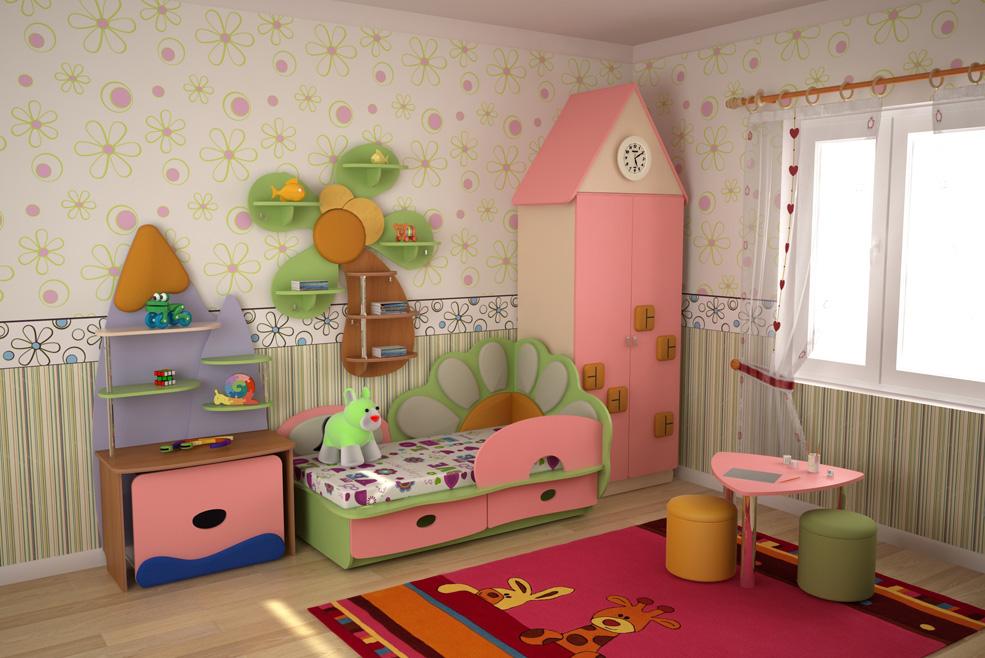 Дизайн детских до 3-х лет