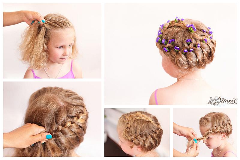 Мастер класс прически детские на средние волосы