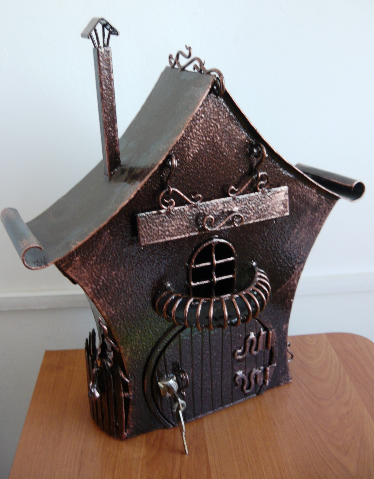 Почтовый ящик своими руками из металла фото чертежи