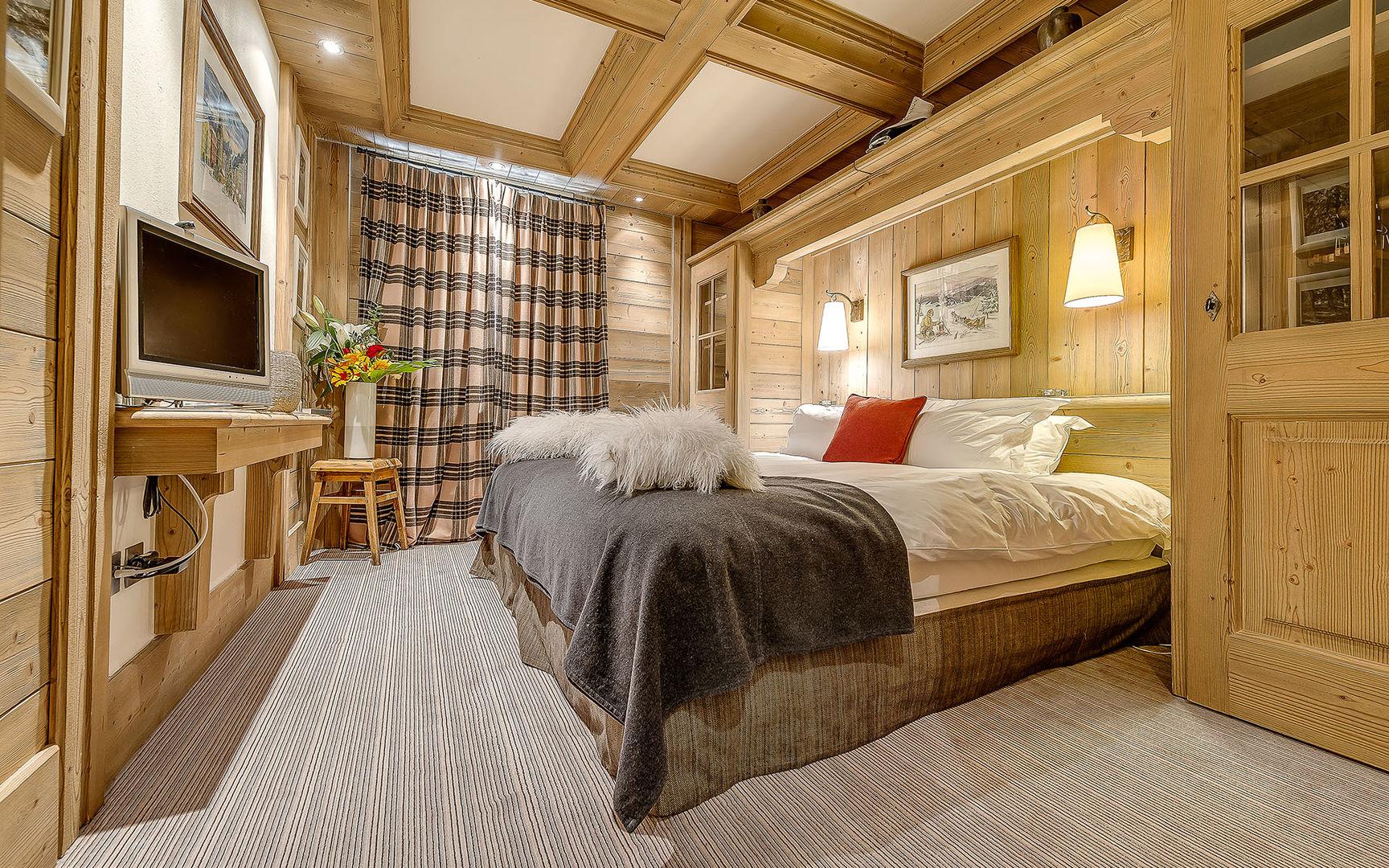 стиль шале в спальне фото озёра по-своему