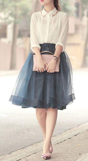 как сделать юбку пачку