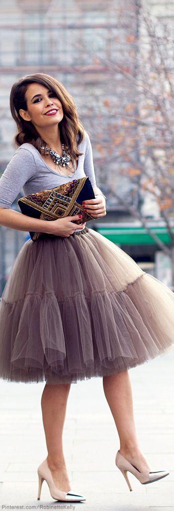 юбка из фатина выкройка