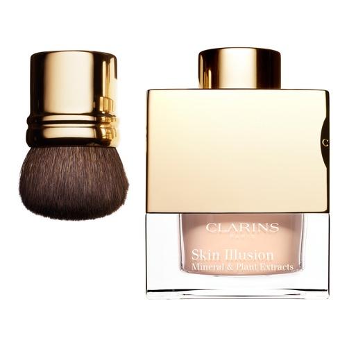 Минеральная рассыпчатая пудра Clarins Skin Illusion дает стойкое покрытие и  маскирует несовершенства, 2 730.