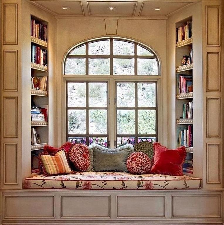 Обустройте у окна место для чтения