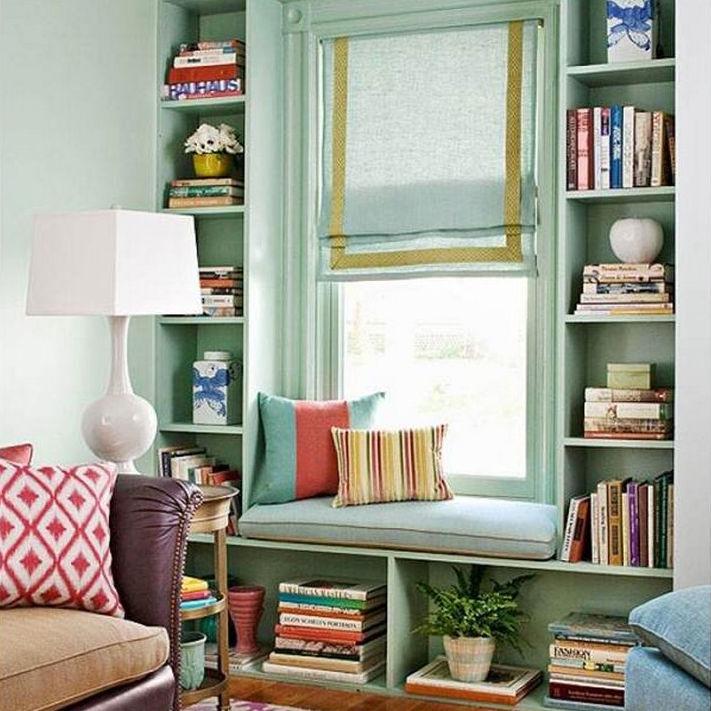 Добавьте уюта с помощью римских штор