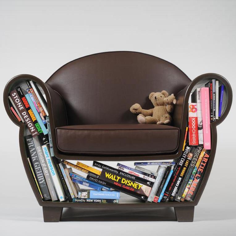 Необычное решение классического кресла