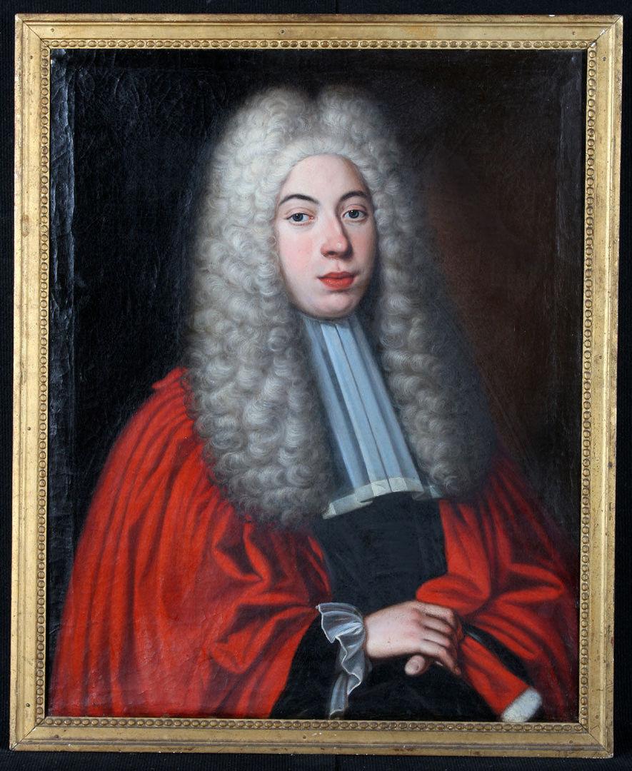 Portrait de magistrat 1700 г