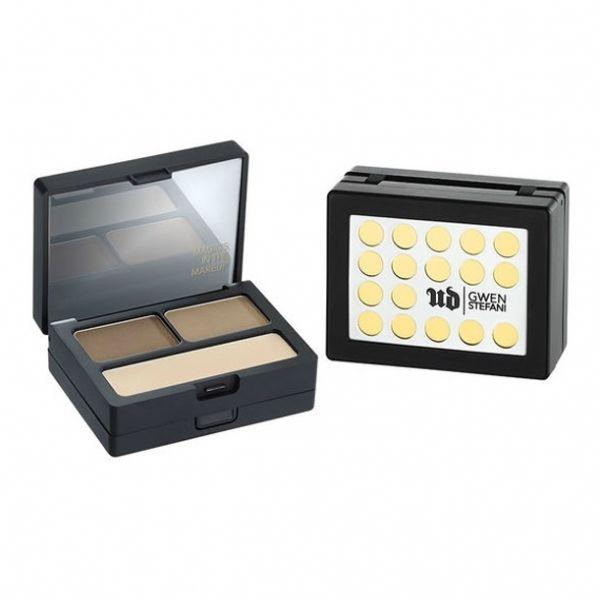 Набор для бровей Urban Decay Gwen Brow Box (воск, два оттенка теней и инструменты для макияжа), от 2 190 рублей.