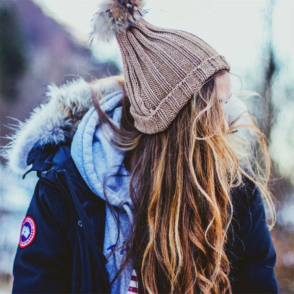 Как ухаживать за волосами в холодное время