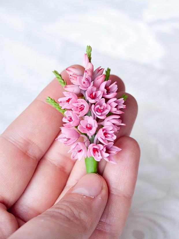 цветы из полимерной глины фото пошагово все мужчины