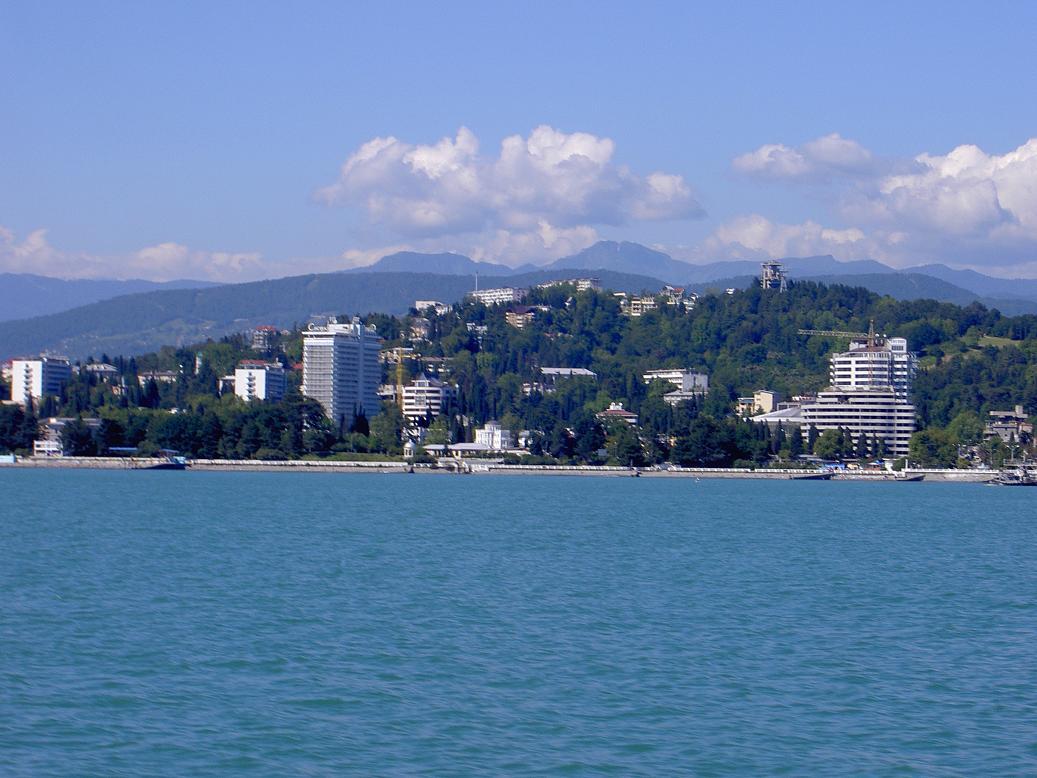 города сочинского побережья картинка одна